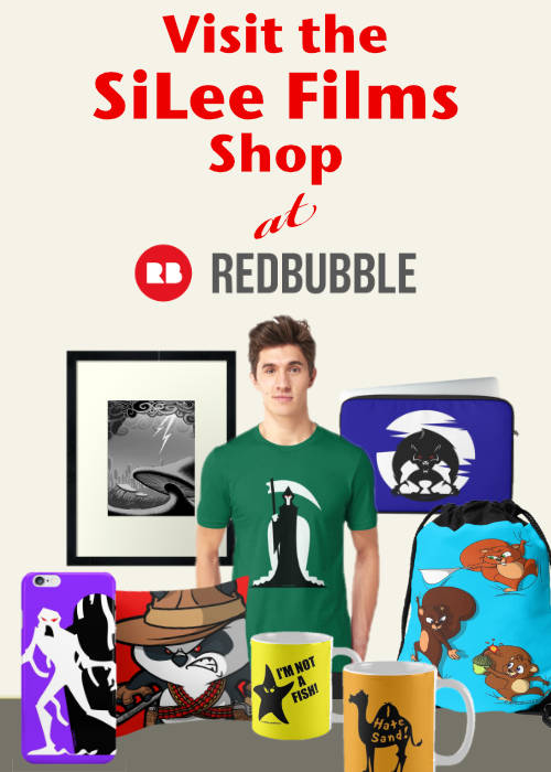 SiLee RedBubble Shop Banner link