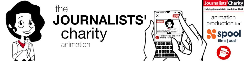 Journalists' Charity - Animated Short film